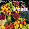 Find Numbers - Fruit