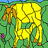 Goat and cub coloring