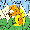 Hungry beaver coloring