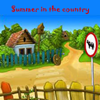 Summer in the village. 5 Differences