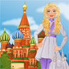 Barbie visits Moscow