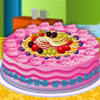 Cake full of fruits