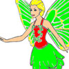 Flying Fairy Coloring
