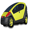 Small colorful car coloring